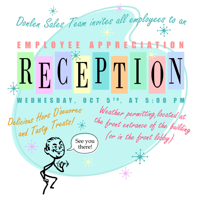 Employee Appreciation E-mail Invite